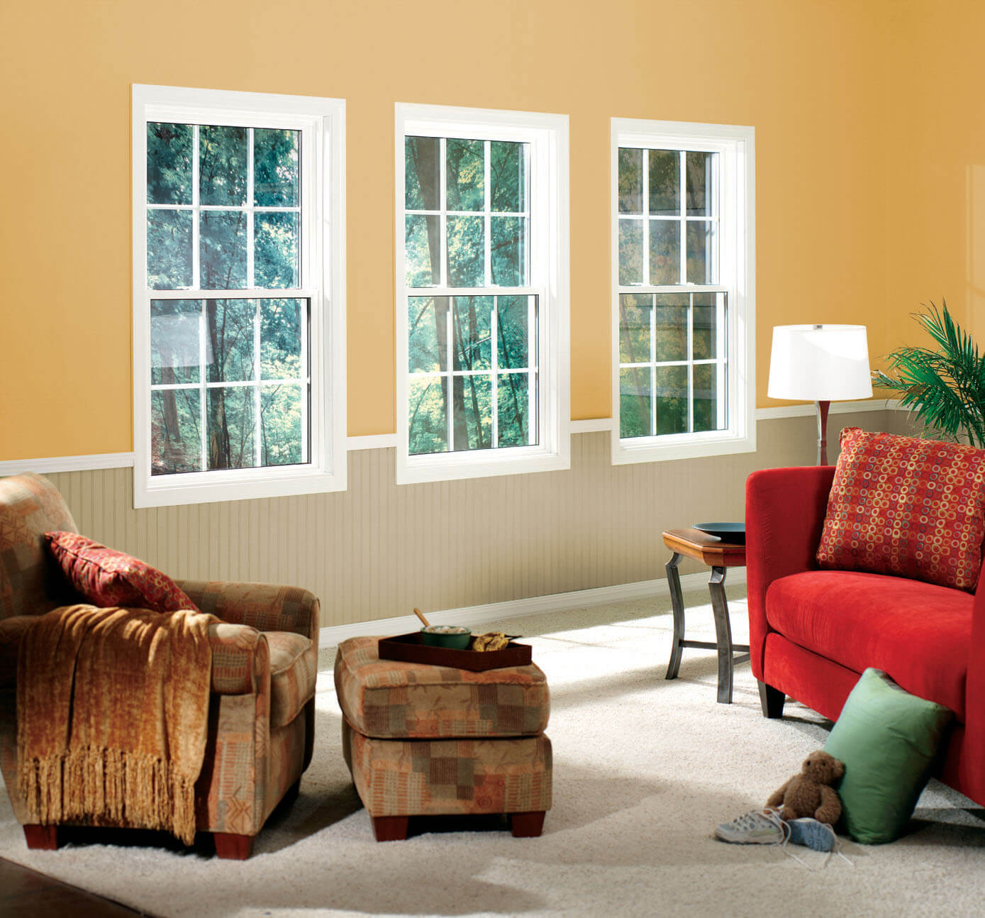 Single Hung Windows with time-honored window designs and a modern flair