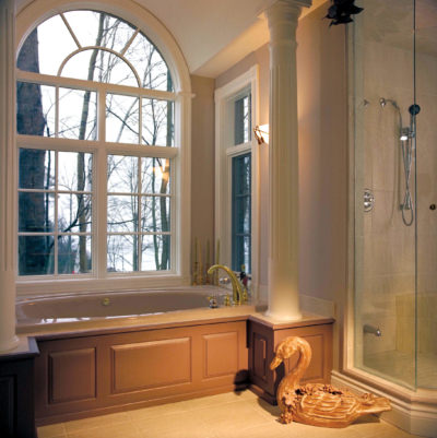 Custom shaped vinyl windows offer the right fit in any room in your home