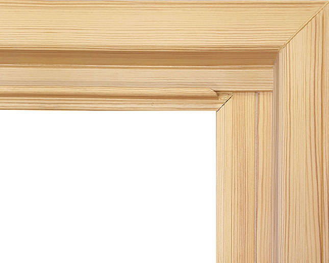 New! Raw Pine Paintable/Stainable