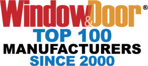 Restorations is a Top 100 Manufacturer as recognized by Window & Door Magazine